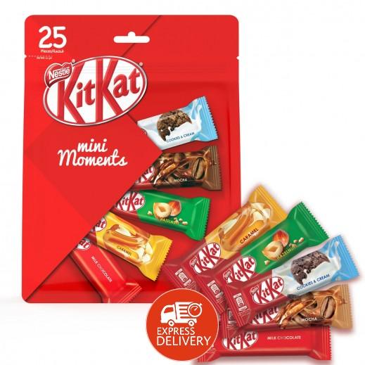 """كيت كات – تشكيلة شوكولاتة """"ميني مومينتس""""  427.5 جم"""