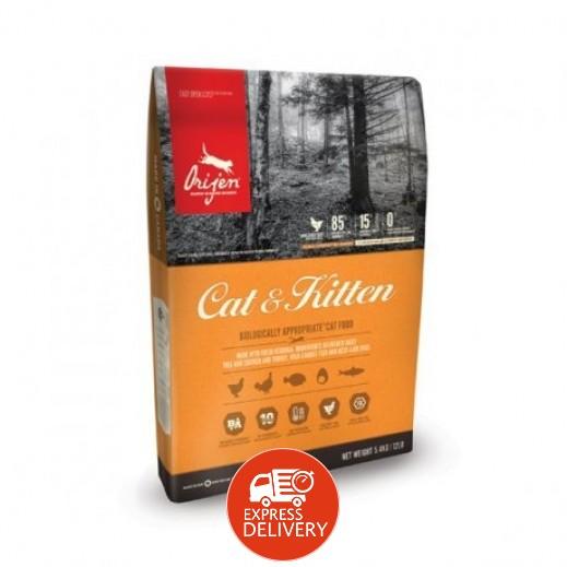 أوريجين – طعام القطط البالغة والصغيرة 5.4 كجم