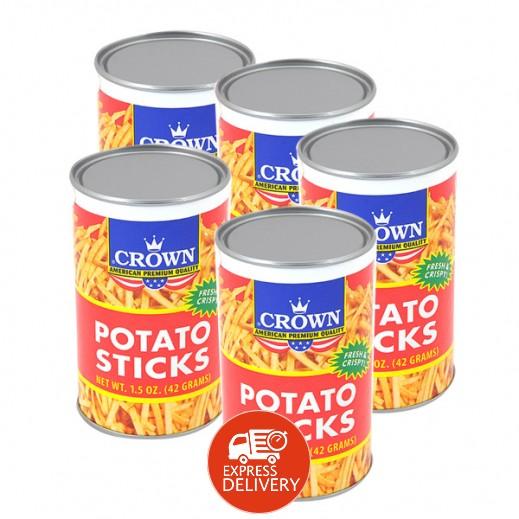 كراون - عيدان البطاطا - طازج ومقرمش 50 جم (5 حبة)