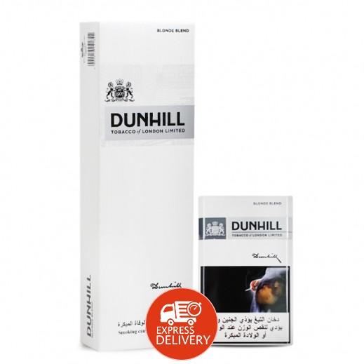 دانهيل - سجائر وايت 1 مج - كرتون