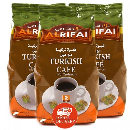 الرفاعي - قهوة تركية بالهيل 250 جم (3 حبة) - عرض التوفير