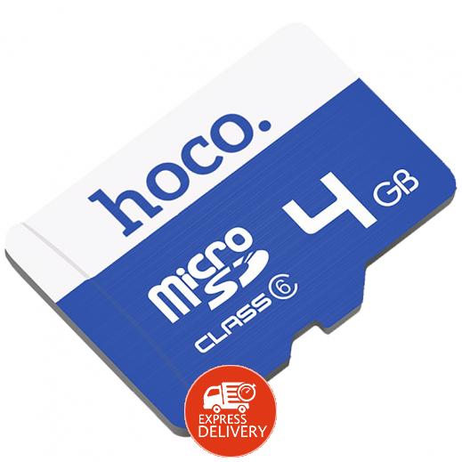 هوكو – بطاقة ذاكرة ميكرو SD سعة 4 جيجابايت