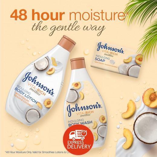 اشتري جونسون، صابون للاستحمام، Vita-Rich، سموذي، دلال، 125 ...