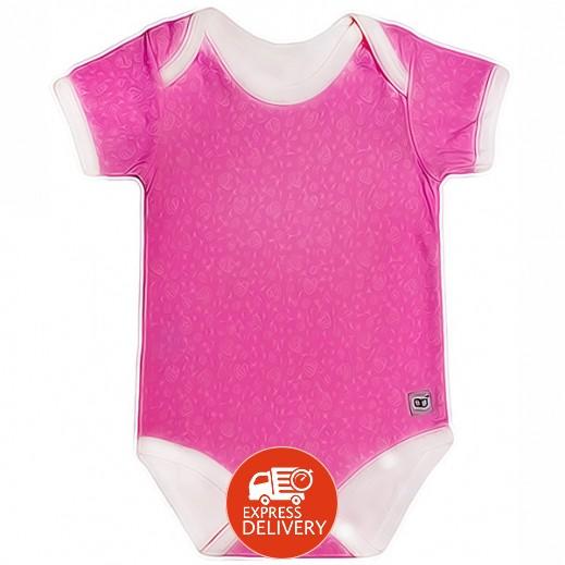 بيبي جلو – بدلة الخروج الذكية للبنات (3-6 شهور) - لون وردي