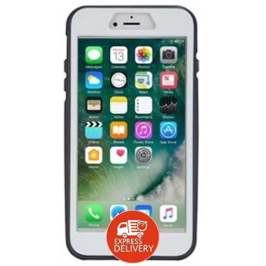 ثول أتومز - غطاء حماية خلفي X4 لآي فون 7 /8 – أبيض وأسود