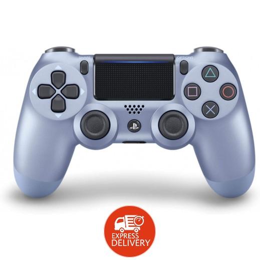 سوني – يد التحكم اللاسلكية Dualshock 4 – ازرق