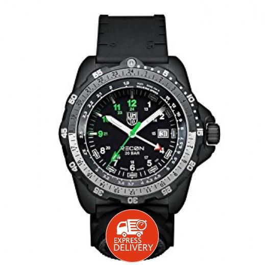 """لومينوكس – ساعة يد """"بلاك ريكون"""" تقنية العرض التناظري كوارتز للرجال إصدار A.8832.MI"""
