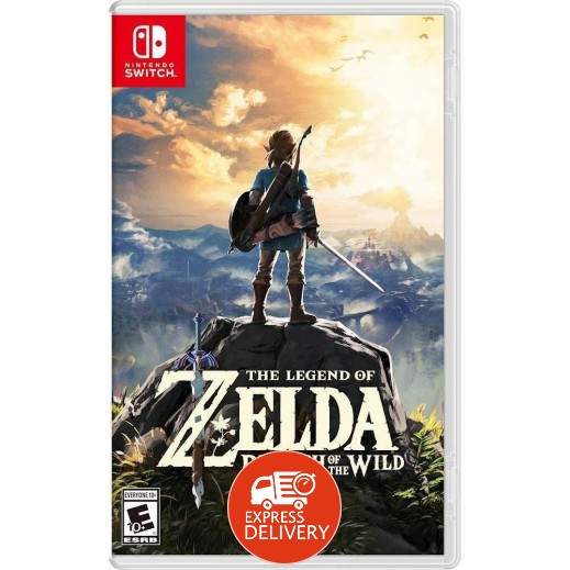 لعبة The Legend of Zelda: Breath of the Wild لجهاز Nintendo Switch