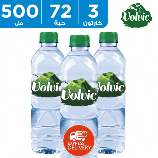 فولفيك – مياه معدنية 500 مل (3 × 24) - أسعار الجملة