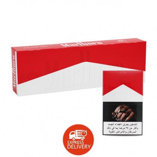 مارلبورو – سجائر ريد بوكس - كرتون