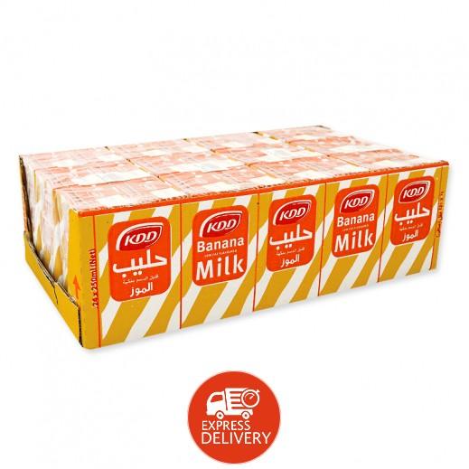 كى دى دى – حليب بنكهة الموز 250 مل ( 24 حبة )
