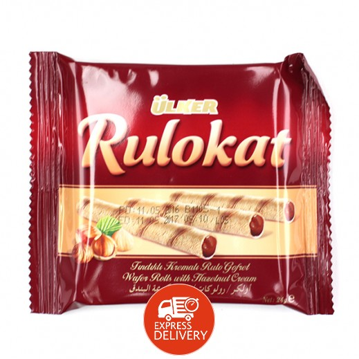 أولكر - شوكولاته ويفر رولكات 24 جرام