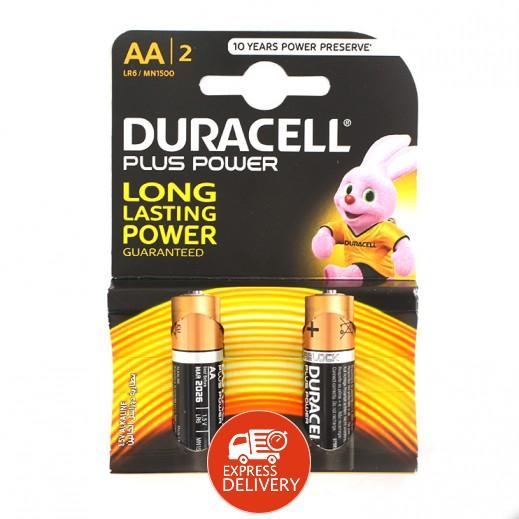 دوراسيل حزمة بطاريات الكالاين AA عدد 2 (1.5V)