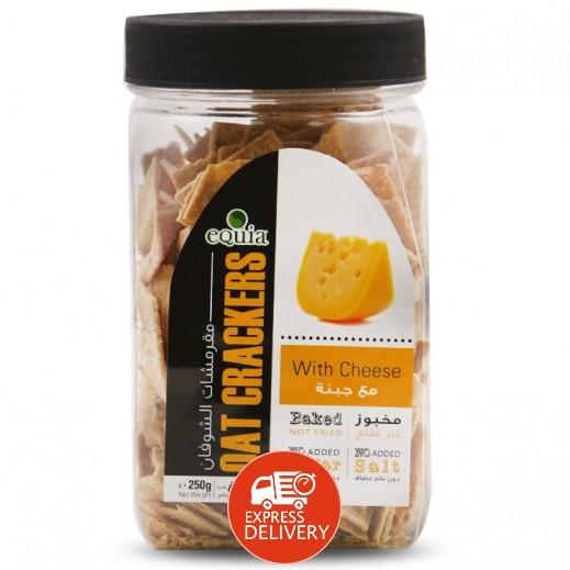 إيكوا – خبز الشوفان المقرمش مع الجبنة 200 جم