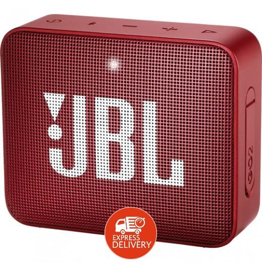 جي بي ال –  مكبر صوت ميني   GO2 مقاوم للماء – أحمر