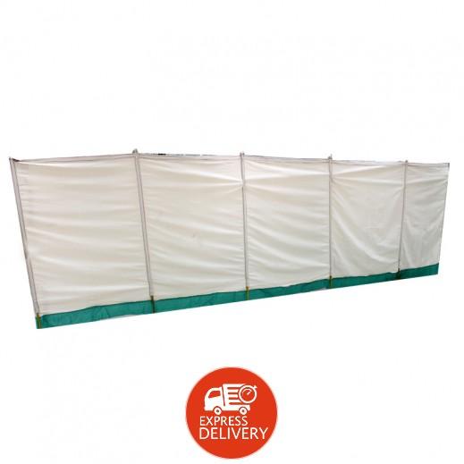 رامادان – واقي الرياح للمخيم 170 × 600 سم (ألوان متعددة)