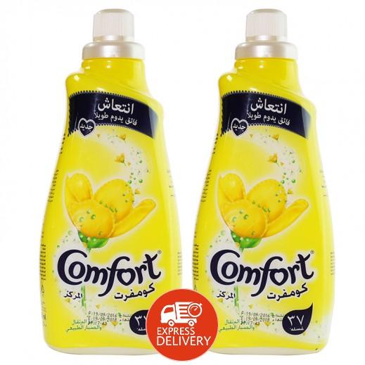كومفورت – منعم الأقمشة المركز بعطر البرتقال والصبار 1.5 لتر (2 حبة) – أسعار الجملة