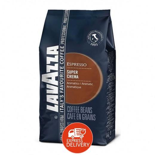 لافتزا - حبوب القهوة سوبر كريمي 1 كجم