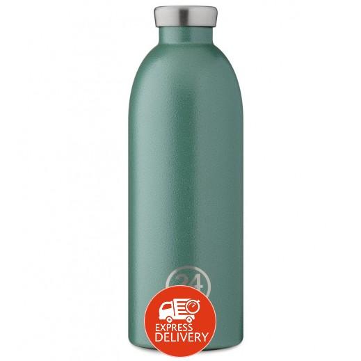 24 بوتلز - زجاجه مشروبات كليما الحرارية - أخضر 850  مل