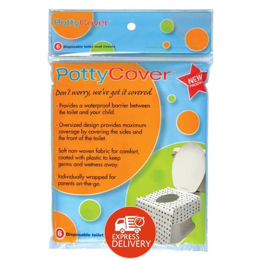 بوتي كفر – غطاء لمقعد المرحاض للاستعمال مرة واحدة (6 حبة)