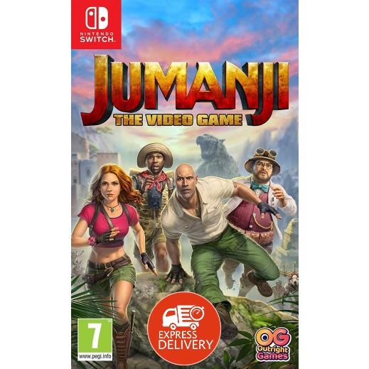 لعبة Jumanji: The Video Game لجهاز نايتندو سويتش – نظام PAL