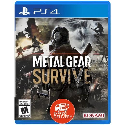 لعبة Metal Gear Survive لبلاي ستيشن 4 – نظام NTSC