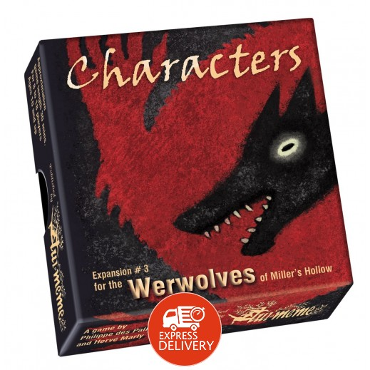 لعبة Werewolves of Miller's Hollow - Character Expansion