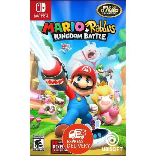 لعبة Mario + Rabbids Kingdom Battle لجهاز نايتندو سويتش – نظام NTSC