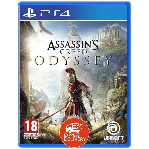 لعبة Assassins Creed Odyssey لجهاز بلاي ستيشن 4 – نظام PAL (عربي)