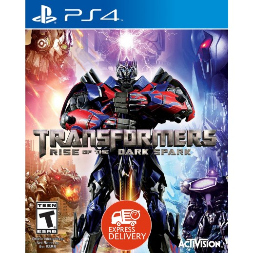 لعبة  Transformers Rise of the Dark Spark لبلاي ستيشن 4 – NTSC