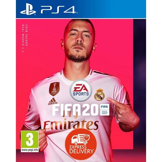لعبة FIFA 20 Standard Edition لجهاز بلاي ستيشن 4 – نظامPAL  عربي