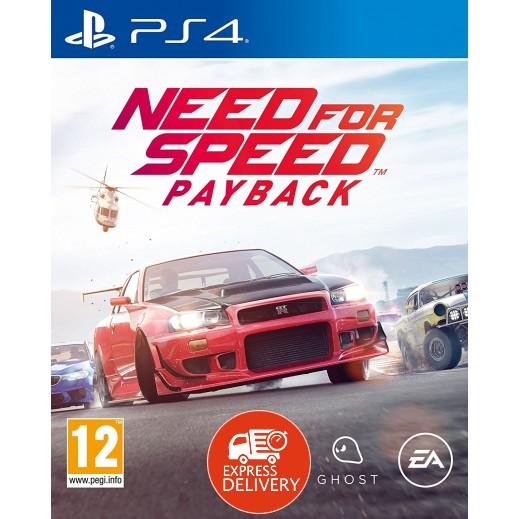 لعبة Need for Speed Payback لجهاز بلاي ستيشن 4 – نظام PAL (عربي)