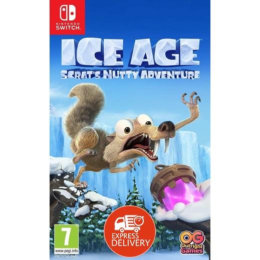 لعبة Ice Age Scrat's Nutty Adventure لجهاز نايتندو سويتش – نظام PAL