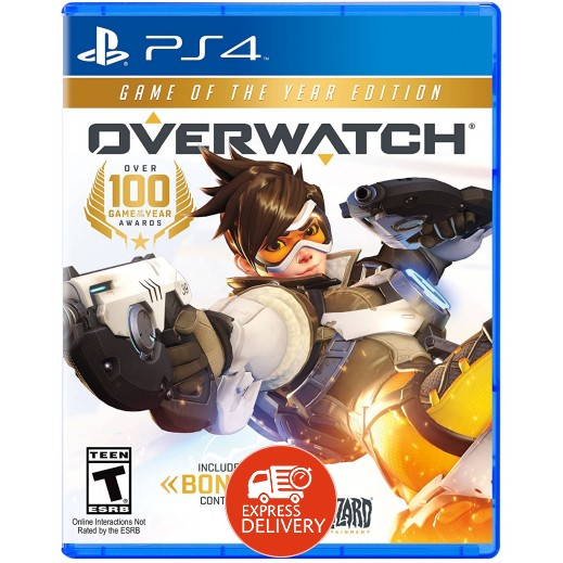 لعبة Overwatch - Game of the Year Edition لبلاي ستيشن 4 – نظام NTSC