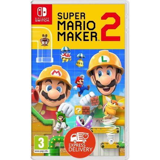لعبة Super Mario Maker 2 لجهاز نايتندو سويتش – نظام PAL