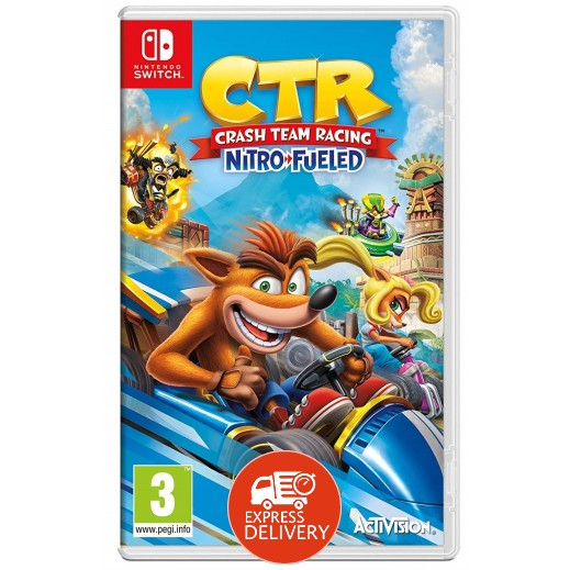 لعبة Crash Team Racing Nitro-Fueled لجهاز نايتندو سويتش – نظام PAL