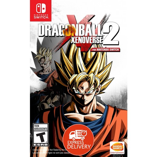 لعبة Dragon Ball Xenoverse 2 لجهاز نايتندو سويتش – نظام NTSC