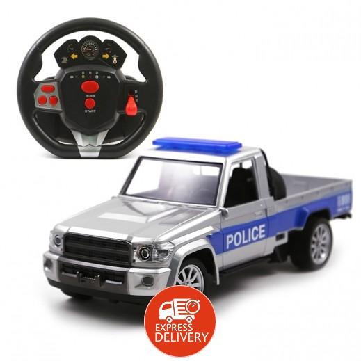 ملك الصحراء - سيارة شرطة للطرق غير المُعبّدة تحكم عن بُعد قابلة للشحن