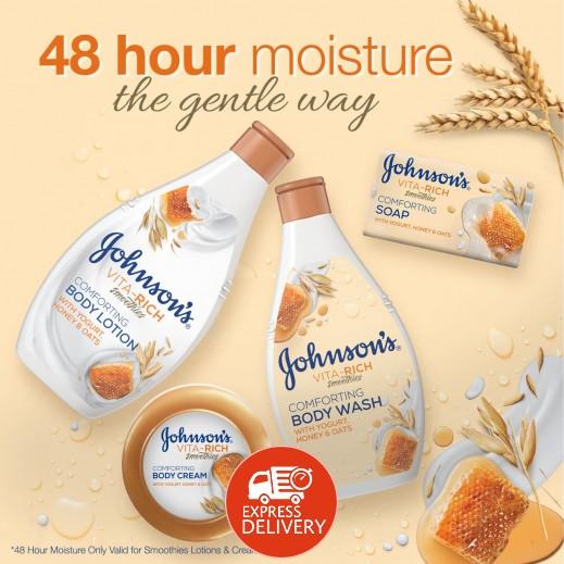 اشتري جونسون، صابون سائل، Vita-Rich، سموذي، راحة، 400 مل ...