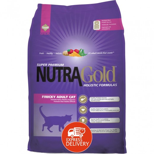 نوترا جولد – طعام القطط البالغة الفينيكي وجبة غذائية كاملة 3 كجم