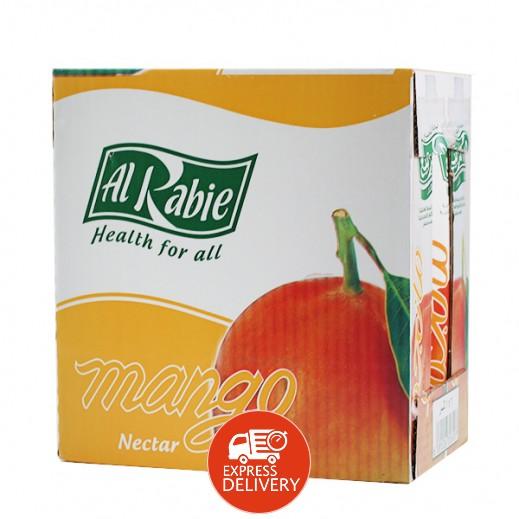 الربيع - عصير المانجو نكتار 1 لتر (6 حبة)