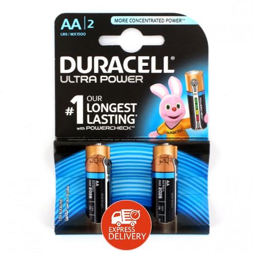 دوراسيل - بطارية الكالين مقاس AA - عبوة 2 حبة