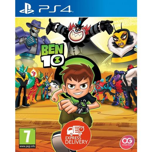 لعبة Ben 10 لجهاز بلاي ستيشن 4 – نظام PAL