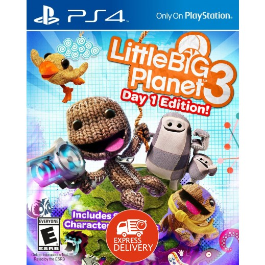 لعبة Little Big Planet 3 ل PS4 نظام NTSC