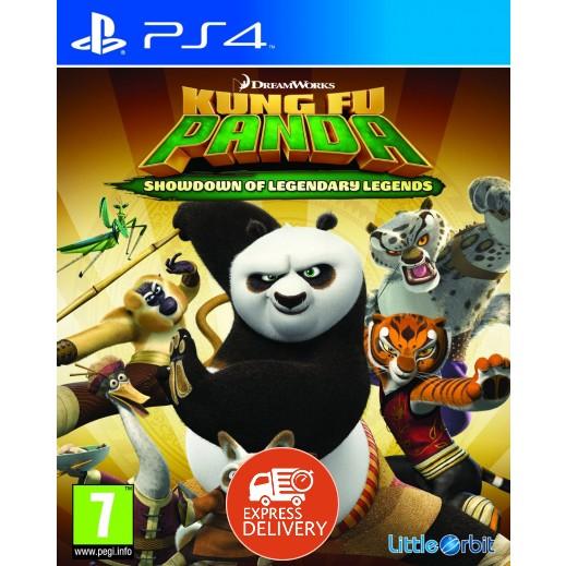 لعبة   Kung Fu Panda: Showdown of Legendary Legends لPS4 -  نظام PAL