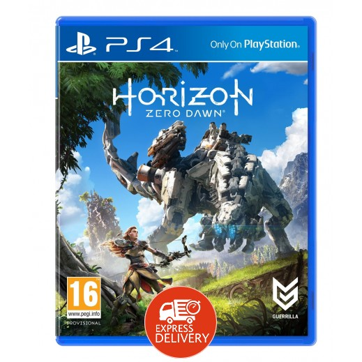 لعبة HORIZON: ZERO DAWN لجهاز PS4 نظام PAL