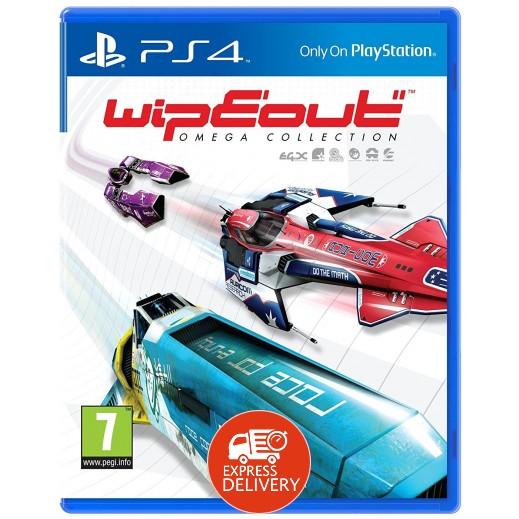 لعبة Wipeout Omega Collection لبلاي ستيشن 4 – PAL