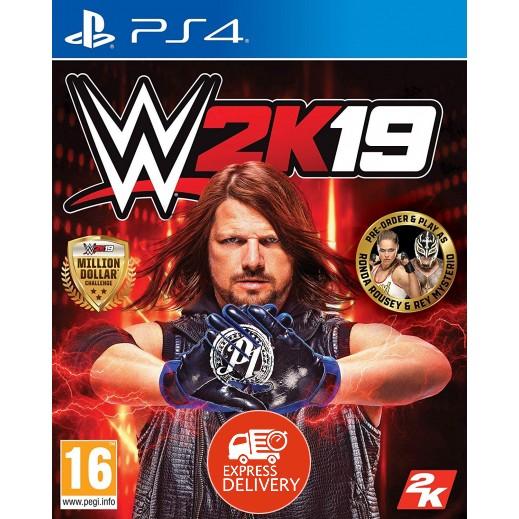 لعبة WWE 2K19 لجهاز بلاي ستيشن 4 – نظام PAL (عربي)