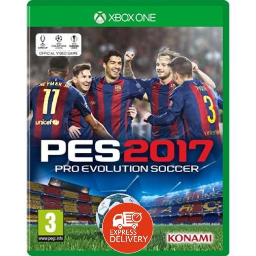 لعبة Pro Evolution Soccer 2017 لأجهزة إكس بوكس ون (عربي) – PAL