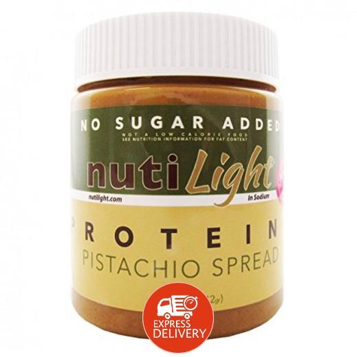 نوتيلايت – كريمة قابلة للدهن بالبروتين والفستق (خالية من السكر) 312 جم